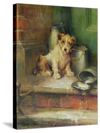 Spilt Milk-Philip Eustace Stretton-Stretched Canvas Print