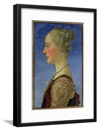 Portrait of a Lady-Antonio Pollaiolo-Framed Giclee Print