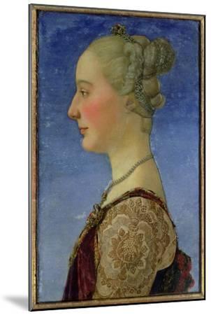 Portrait of a Lady-Antonio Pollaiolo-Mounted Giclee Print