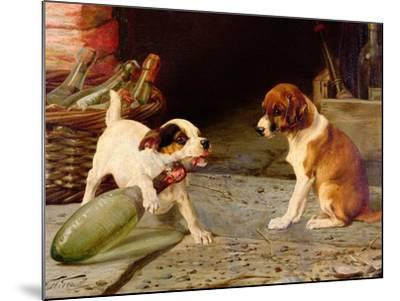 Uncorking the Bottle, 1887-William Henry Hamilton Trood-Mounted Giclee Print