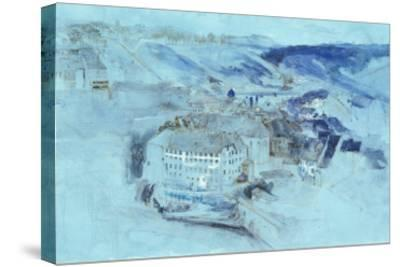 Fribourg-John Ruskin-Stretched Canvas Print