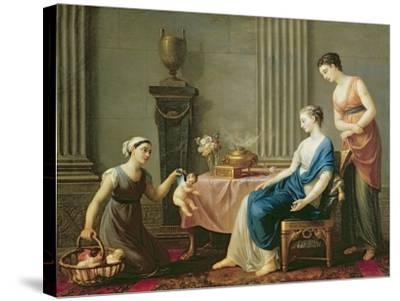 The Seller of Loves, 1763-Joseph-marie, The Elder Vien-Stretched Canvas Print