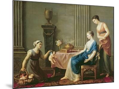 The Seller of Loves, 1763-Joseph-marie, The Elder Vien-Mounted Giclee Print