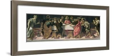 The Last Supper-Jacopo Robusti Tintoretto-Framed Giclee Print