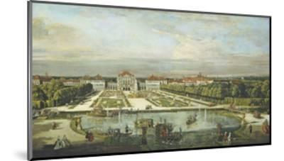 Schloss Nymphenburg, 1761-Bernardo Bellotto-Mounted Giclee Print