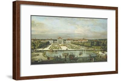 Schloss Nymphenburg, 1761-Bernardo Bellotto-Framed Giclee Print