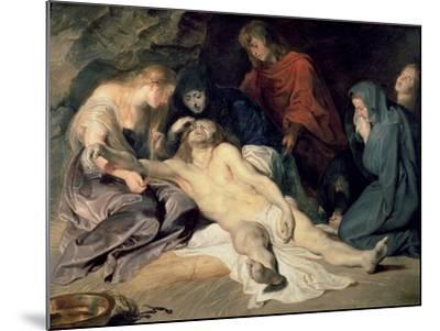 Lament of Christ, 1614-Peter Paul Rubens-Mounted Giclee Print