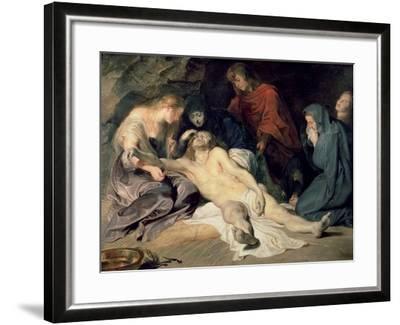 Lament of Christ, 1614-Peter Paul Rubens-Framed Giclee Print