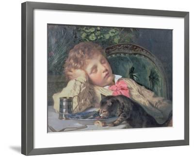 Opportune Moment-Sophie Anderson-Framed Giclee Print
