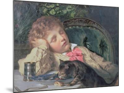 Opportune Moment-Sophie Anderson-Mounted Giclee Print
