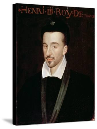 Portrait of Henri III--Stretched Canvas Print