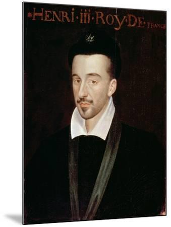 Portrait of Henri III--Mounted Giclee Print