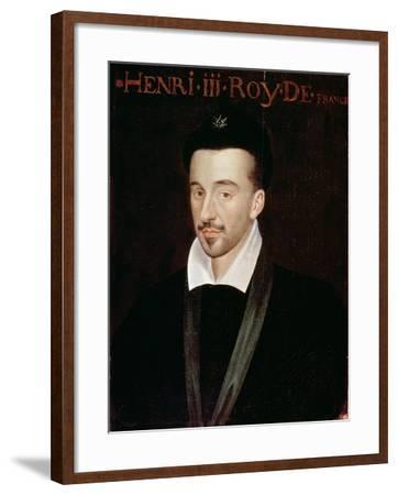 Portrait of Henri III--Framed Giclee Print