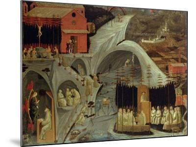 The Thebaid, c.1460-Paolo Uccello-Mounted Giclee Print