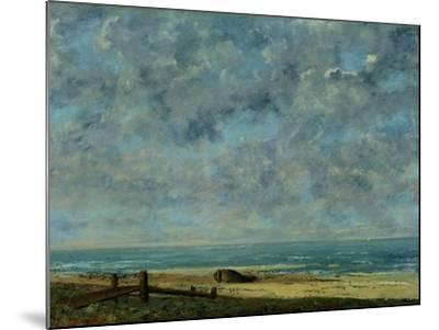 The Sea, c.1872-Gustave Courbet-Mounted Giclee Print
