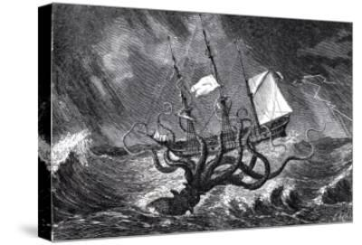 The Kraken As Seen By The Eye Of Imagination From John