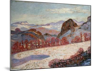 St. Sauves D'Auvergne, c.1900-Armand Guillaumin-Mounted Giclee Print