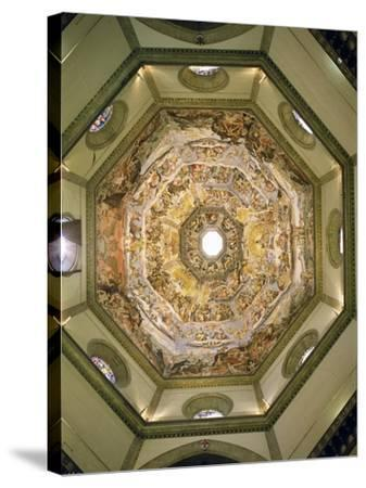 The Last Judgement, from the Cupola of the Duomo, 1572-79-Giorgio Vasari-Stretched Canvas Print