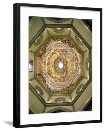 The Last Judgement, from the Cupola of the Duomo, 1572-79-Giorgio Vasari-Framed Giclee Print