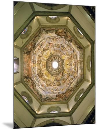 The Last Judgement, from the Cupola of the Duomo, 1572-79-Giorgio Vasari-Mounted Giclee Print