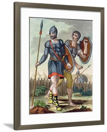 Legionaries, from L'Antica Roma, 1825--Framed Giclee Print