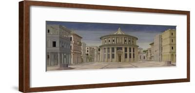 View of an Ideal City, or the City of God, After 1470-Luciano Laurana-Framed Giclee Print