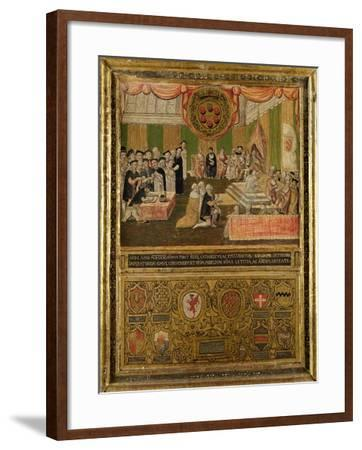 Ratification of the League Against the Turks, 1570-71--Framed Giclee Print