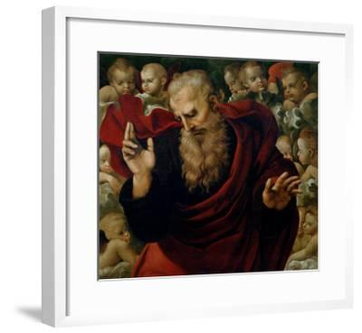 God the Father Blessing-Raphael-Framed Giclee Print