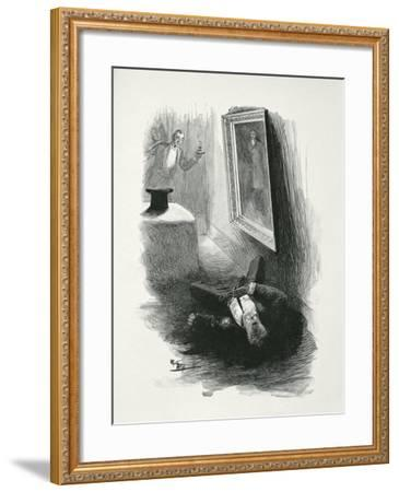 Illustration from The Picture of Dorian Gray by Oscar Wilde-Paul Thiriat-Framed Giclee Print