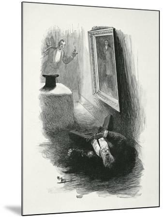 Illustration from The Picture of Dorian Gray by Oscar Wilde-Paul Thiriat-Mounted Giclee Print