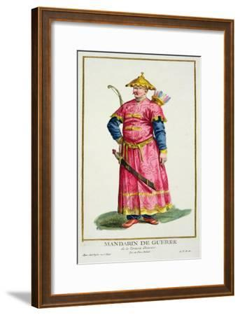 Mandarin Warlord from Receuil Des Estampes, Published 1780-Pierre Duflos-Framed Giclee Print