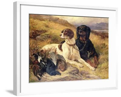 Serving the Guns-Edwin Henry Landseer-Framed Giclee Print