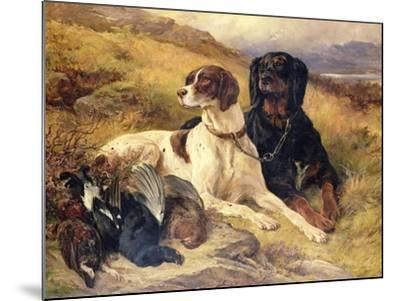 Serving the Guns-Edwin Henry Landseer-Mounted Giclee Print