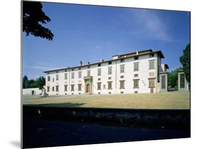 Villa Medicea Di Castello, Begun 1477--Mounted Giclee Print