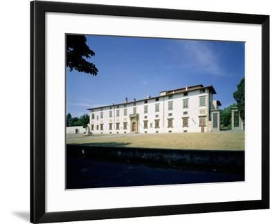 Villa Medicea Di Castello, Begun 1477--Framed Giclee Print