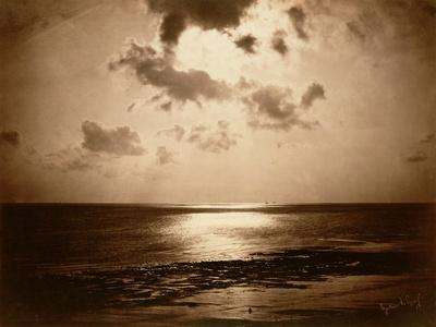 Solar Effect - Ocean, 1857-Gustave Le Gray-Framed Giclee Print