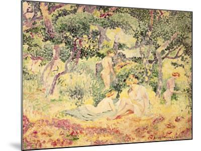 Nudes in a Wood, 1905-Henri Edmond Cross-Mounted Giclee Print