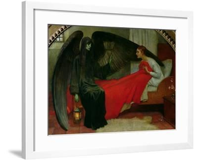 The Young Girl and Death, c.1900-Marianne Stokes-Framed Giclee Print