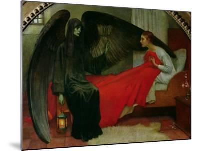 The Young Girl and Death, c.1900-Marianne Stokes-Mounted Giclee Print