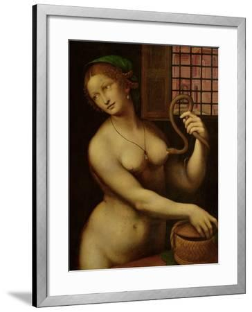 The Death of Cleopatra- Giampietrino-Framed Giclee Print