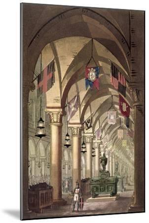 Tombs of the Knights Templar, c.1820-39-Alessandro Sanquirico-Mounted Giclee Print