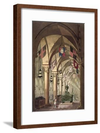 Tombs of the Knights Templar, c.1820-39-Alessandro Sanquirico-Framed Giclee Print