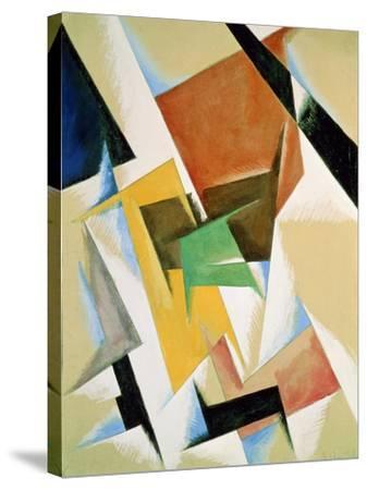 Compostion, 1921-Liubov Sergeevna Popova-Stretched Canvas Print