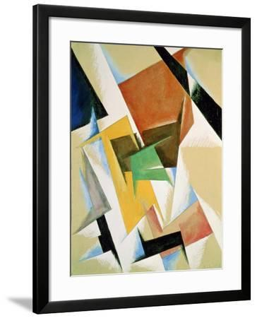 Compostion, 1921-Liubov Sergeevna Popova-Framed Giclee Print