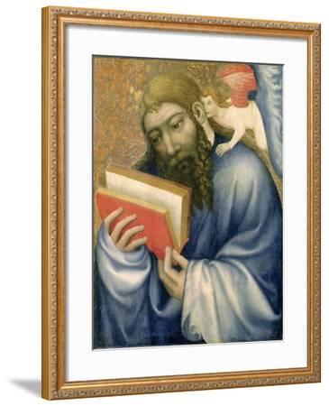 St. Matthew, from the Chapel of Karlstejn Castle, c.1365- Theodoricus of Prague-Framed Giclee Print