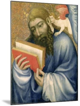 St. Matthew, from the Chapel of Karlstejn Castle, c.1365- Theodoricus of Prague-Mounted Giclee Print