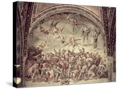 Last Judgement, the Damned, 1499-1502-Luca Signorelli-Stretched Canvas Print