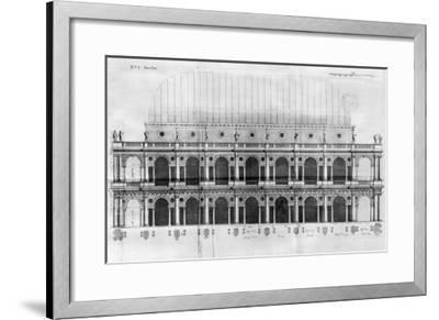 Basilica Palladiana at Vicenza, Designed by Andrea Palladio--Framed Giclee Print