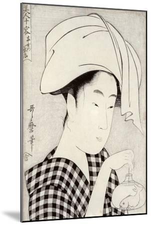 Tea-House in Ryogoku, from the Series Bijin Juyo-Kitagawa Utamaro-Mounted Giclee Print