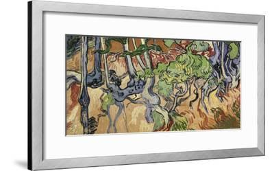 Tree Roots, 1890-Vincent van Gogh-Framed Giclee Print